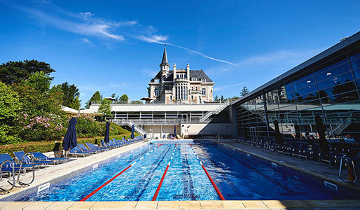 David Lloyd Brussels outdoor pool