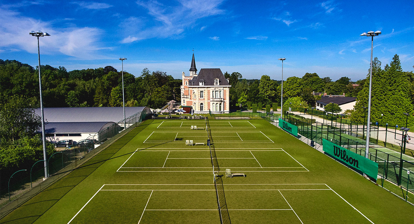 David Lloyd Brussels tennis