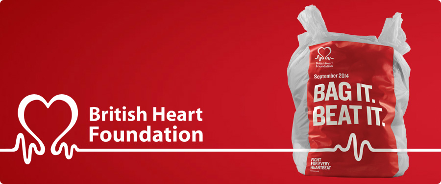 British Heart Foundation. Bag It, Beat It